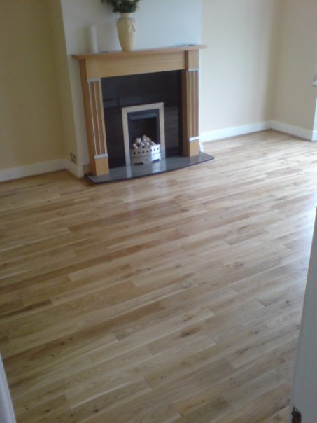 Laminate Flooring Near Fireplace